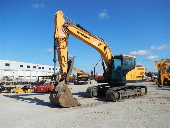2017 Hyundai HX160L Excavator-Track For Sale