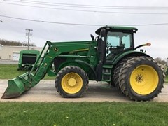 Tractor - Row Crop For Sale 2012 John Deere 7215R , 215 HP