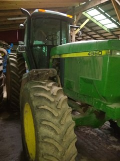 Tractor - Row Crop For Sale John Deere 4960 , 200 HP