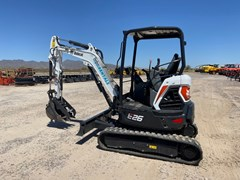 Excavator-Track  Bobcat E26R