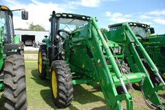 Tractor - Row Crop For Sale 2017 John Deere 6145R , 145 HP