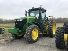 Tractor - Row Crop For Sale 2017 John Deere 7230R , 230 HP