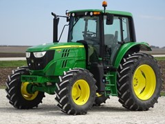 Tractor - Utility For Sale 2019 John Deere 6120M , 120 HP
