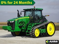 Tractor - Track For Sale 2014 John Deere 8345RT , 345 HP