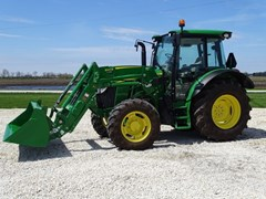 Tractor - Utility For Sale 2017 John Deere 5115R , 115 HP