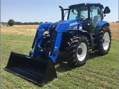 Tractor For Sale 2017 New Holland T6.155 , 116 HP