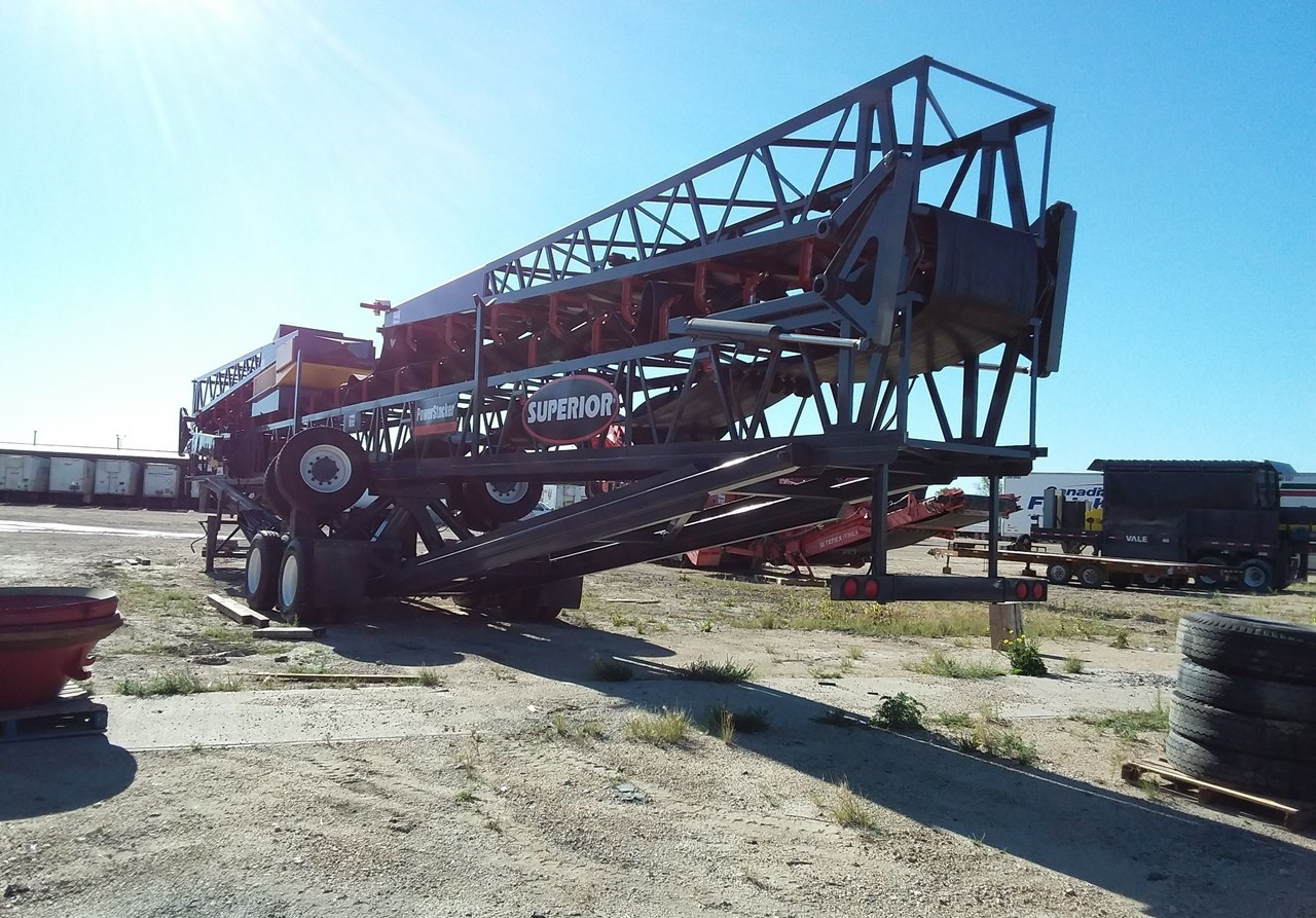 2009 Superior 36X125PS Conveyor - Stacking For Sale
