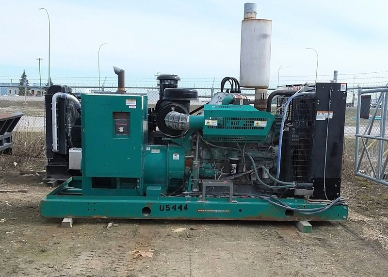 2011 Cummins QSX15-G9 Generator & Power Unit For Sale