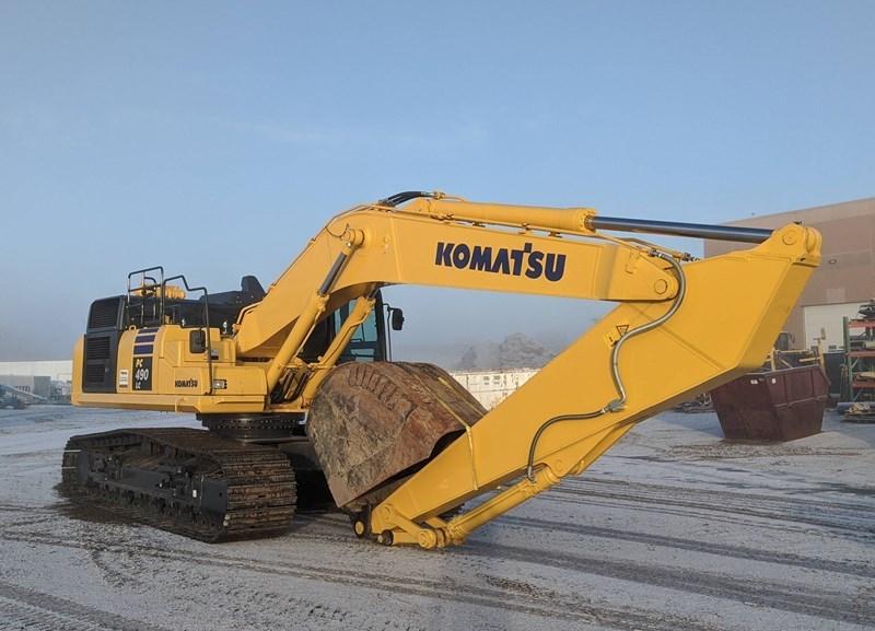 2020 Komatsu PC490LC-11 Excavator For Sale