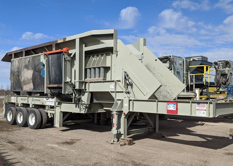 2020 Lippman 6224 Rip Rap Plant For Sale