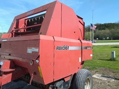 Baler-Round For Sale 2001 Case IH RBX 561