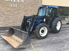 Tractor For Sale 2005 New Holland TN75DA , 72 HP