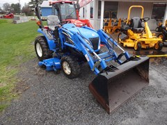 Tractor - Compact Utility For Sale 2007 New Holland TC24DA , 24 HP