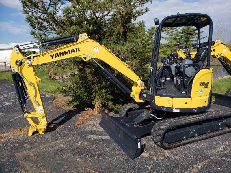 2019 Yanmar ViO35-6A Excavator-Mini For Sale