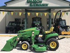 Tractor - Compact Utility For Sale 2012 John Deere 1023E , 23 HP