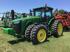 Tractor - Row Crop For Sale 2015 John Deere 8370R , 370 HP