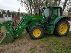 Tractor - Utility For Sale 2018 John Deere 6110M