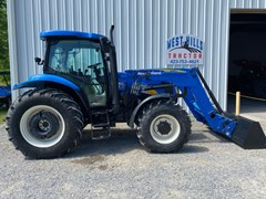 Tractor For Sale 2007 New Holland T6030 , 115 HP