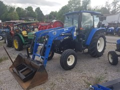 Tractor For Sale 2004 New Holland TL100 2WD LDR , 100 HP