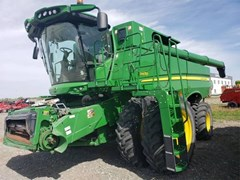 Combine For Sale 2015 John Deere S670 , 373 HP