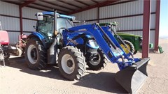 Tractor For Sale 2018 New Holland T6.155 , 125 HP