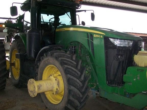 2011 John Deere 8360R Tractor - Row Crop For Sale