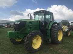 Tractor - Row Crop For Sale 2014 John Deere 6170M , 142 HP