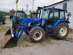 Tractor For Sale 2006 New Holland TL90AC4L , 90 HP