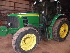 Tractor - Row Crop For Sale 2008 John Deere 7230 Premium , 110 HP