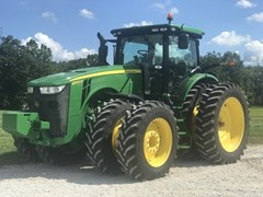 Tractor - Row Crop For Sale 2017 John Deere 8345R , 345 HP