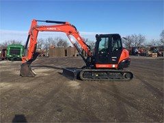 Excavator-Track For Sale 2020 Kubota KX080-4 , 66 HP