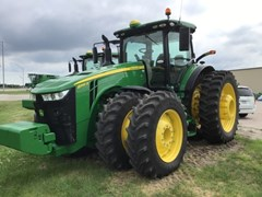 Tractor - Row Crop For Sale 2018 John Deere 8345R , 345 HP