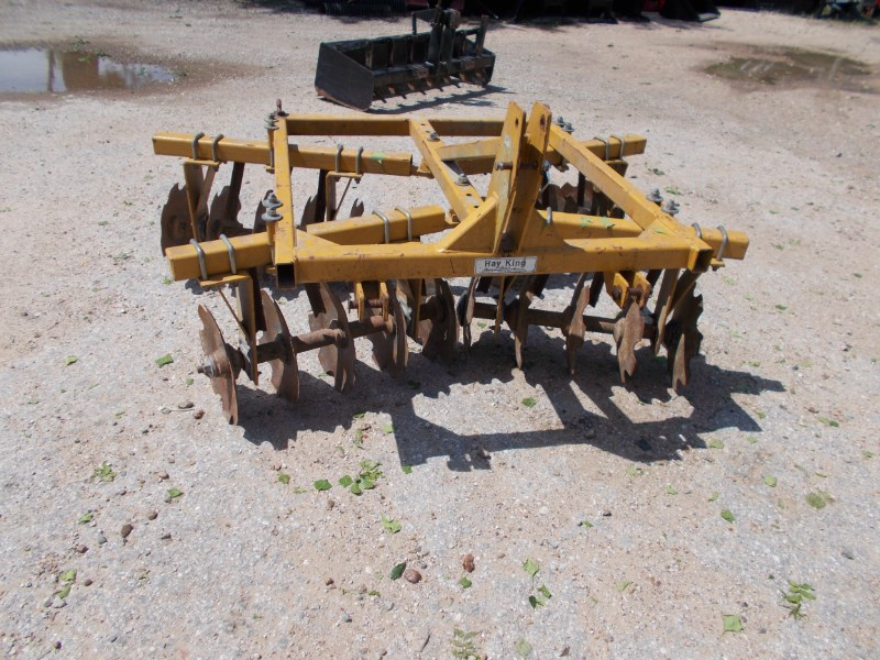 Hay King Heavy Duty Hay King 3pt 6' 20 blade tandem disc Disk Harrow For Sale