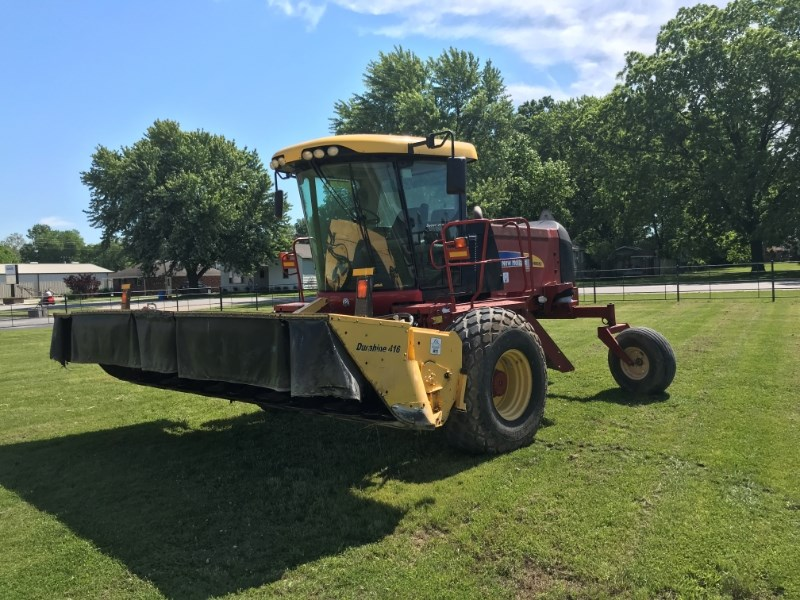 2013 New Holland H8080 Windrower-Self Propelled For Sale