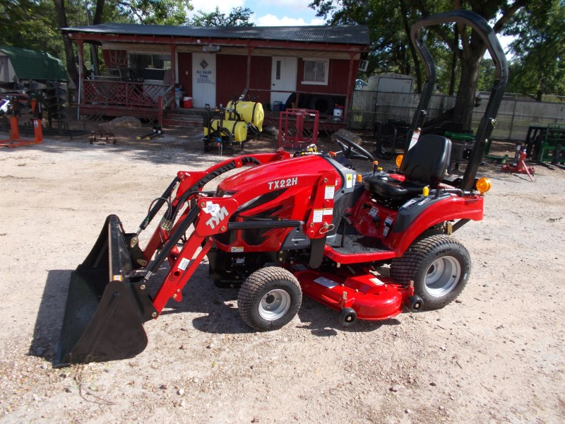 TYM New TYM T224 diesel 4x4 tractor w/ loader & mower Tractor For Sale