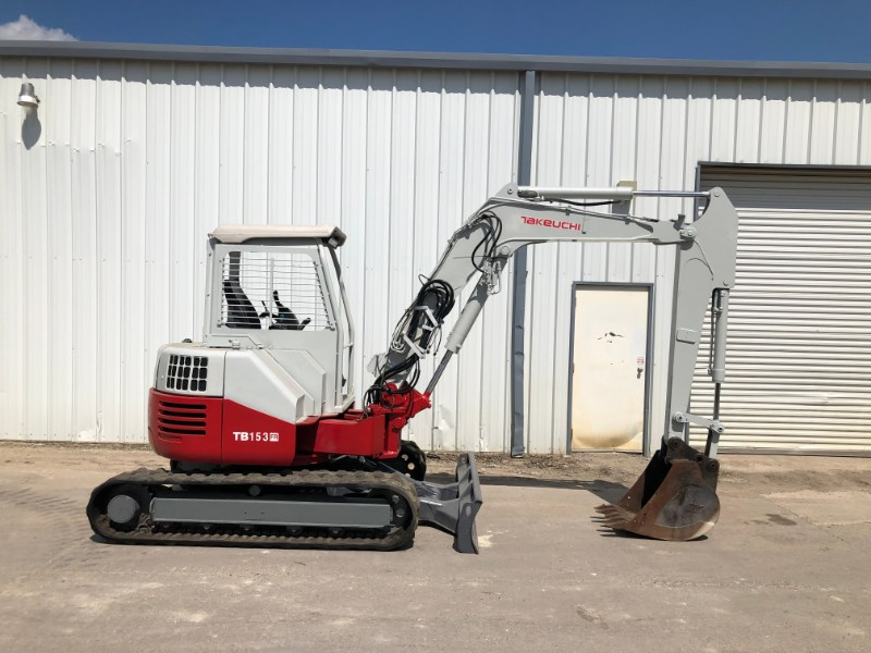 Takeuchi TB153FR Excavator-Mini For Sale