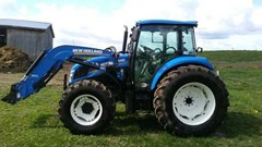Tractor - Utility For Sale:  2014 New Holland T4.95 , 98 HP