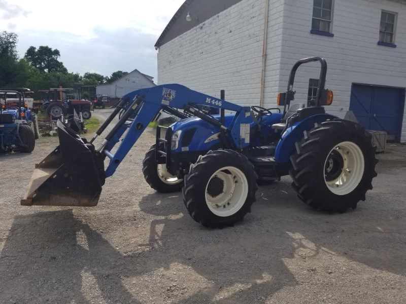 2008 New Holland TN75AR4L Tractor For Sale