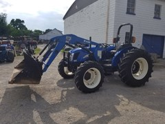 Tractor For Sale 2008 New Holland TN75AR4L , 75 HP
