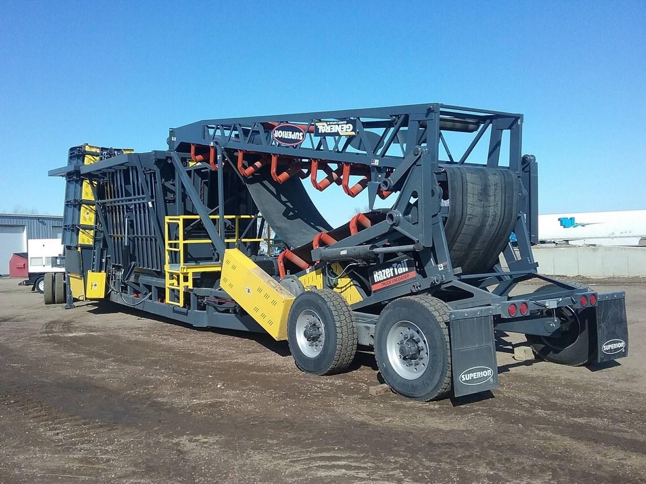 2019 Superior SDRZTU Truck Unloader For Sale