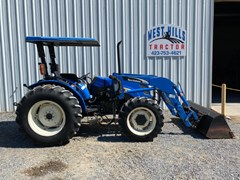 Tractor For Sale 2006 New Holland TN85A , 80 HP