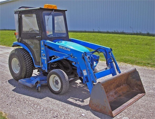 2001 New Holland TC25D Tractor For Sale