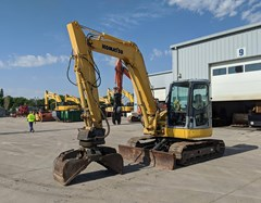 Excavator Mini For Sale 2007 Komatsu PC78MR-6