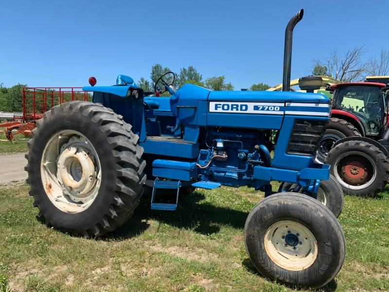 Ford 7700 Tractor For Sale