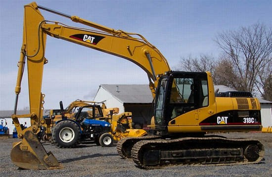 2003 Caterpillar 318C Excavator-Track For Sale