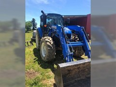 Tractor For Sale 2016 New Holland T4.100 , 99 HP
