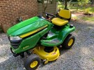 Riding Mower For Sale:  2019 John Deere X350 , 18 HP