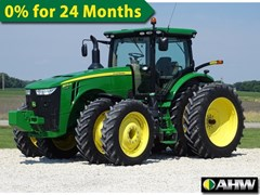Tractor - Row Crop For Sale 2014 John Deere 8270R , 270 HP