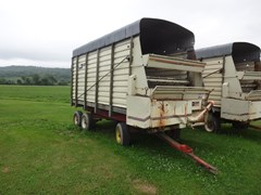 Forage Box-Wagon Mounted For Sale Dion N10L