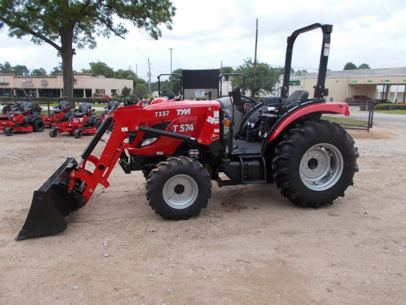 TYM New TYM T574 diesel 4x4 tractor w/ loader Tractor For Sale